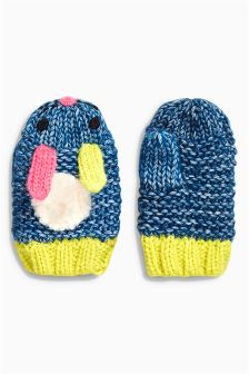 Bunny Mittens (Younger Girls)