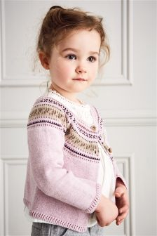 Fairisle Pattern Cardigan (3mths-6yrs)