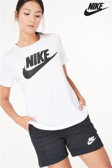 Nike White Futura Icon T-Shirt