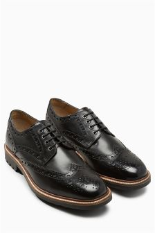 Heavy Cleated Brogue