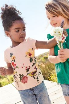 Floral T-Shirt (3mths-6yrs)