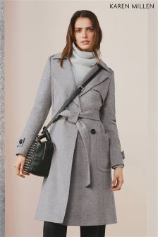 Karen Millen Investment Wool Collection Coat
