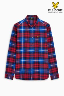 Lyle & Scott Red Tartan Check Shirt