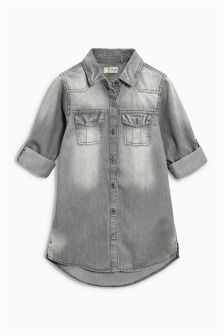 Denim Shirt Dress (3mths-6yrs)