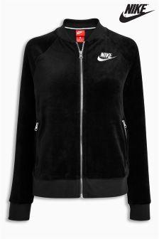 Nike Black Velour Jacket