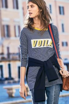 Voila Stripe Top