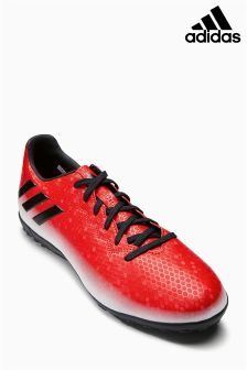 adidas Red/White Messi Turf Football Boot