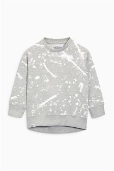 Paint Splat Crew Neck Sweat (3-16yrs)