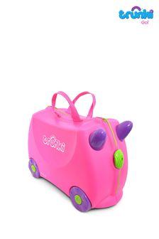 Navy Printed Double Collar Shirt