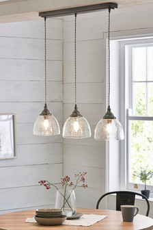 Bergen 3 Light Linear Pendant