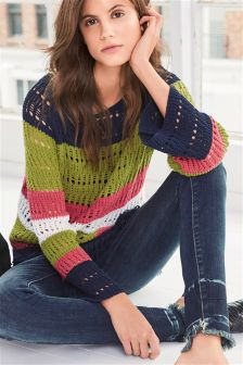 Fringe Hem Sweater
