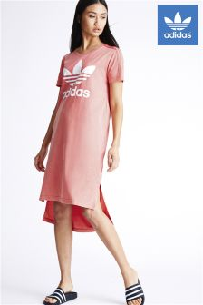 adidas Originals Red Tee Dress
