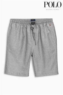 Ralph Lauren Grey Woven Short