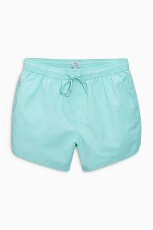 Washed Swim Shorts