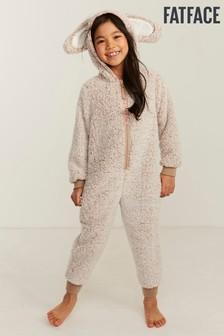 Jigsaw Mocha Silk Pyjama Set