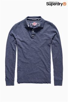 Superdry Long Sleeve Classic Polo