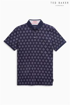 Ted Baker Fella Print Polo