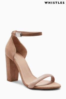 Whistles Nude Hyde Sandal