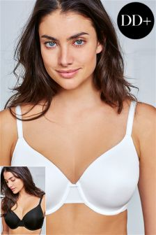 Holly Light Pad Full Cup Bras DD-G Two Pack