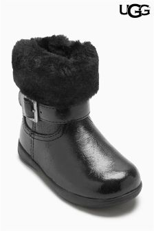Ugg® Black Gemma Boot