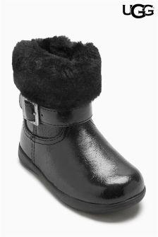 Ugg® Black Gemma Boot