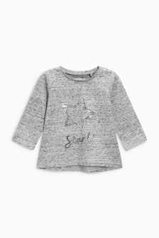 Sequin Star T-Shirt (3mths-6yrs)