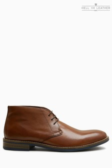 Leather Chukka
