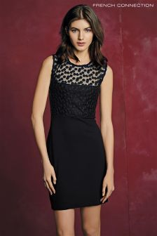 French Connection Black Chelsea Beau Dress