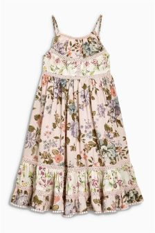 Printed Maxi Dress (3-16yrs)