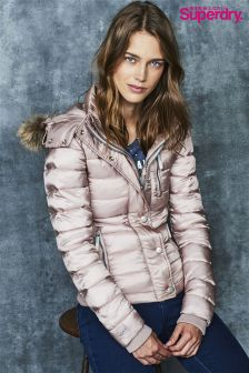 Superdry Blush Luxe Puffer Jacket
