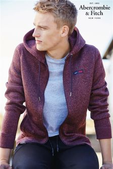 Abercrombie & Fitch Fleece Zip Through Hoody