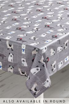 Pugs And Co. PVC Table Cloth
