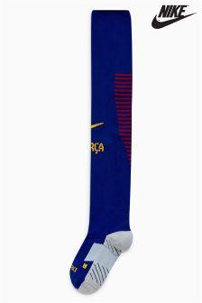 Nike FC Barcelona 2017/18 Home Sock