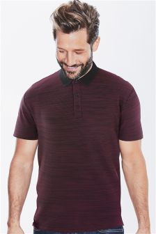 Textured Fabric Interest Polo