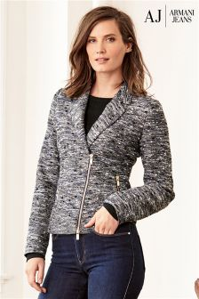 Armani Jeans Grey Tweed Jacket