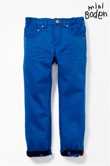 Boden Bright Blue Slim Jeans