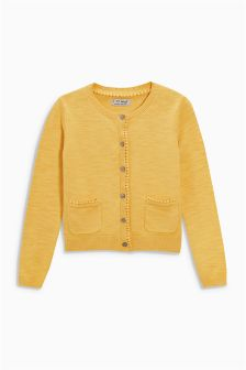 Trim Detail Cardigan (3-16yrs)
