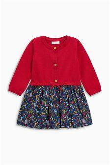 Knit Print Dress (0mths-2yrs)