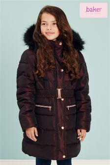 Ted Baker Plum Padded Jacket