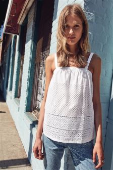 Broderie Cami