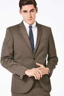 Buy Men's suits Suits Brown from the Next UK online shop