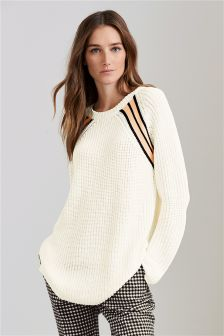 Tipped Cricket Sweater