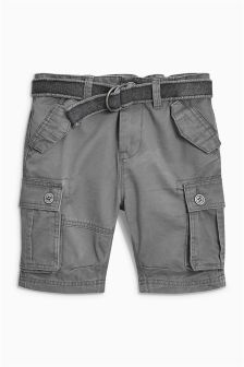 Belted Cargo Shorts (3-16yrs)
