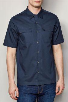 Short Sleeve Rever Shirt