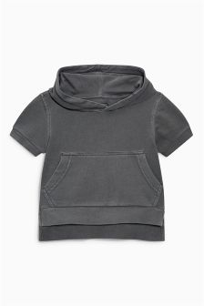 Short Sleeve Hoody (3mths-6yrs)