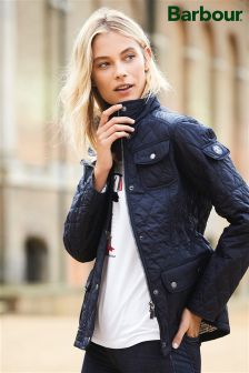 Barbour® Navy Buryhead Quilt Jacket