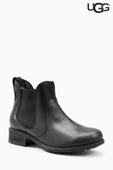 Ugg® Black Bonham Leather Chelsea Boot