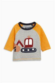 Appliqué Long Sleeve T-Shirt (3mths-6yrs)
