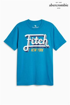 Abercrombie & Fitch Teal T-Shirt