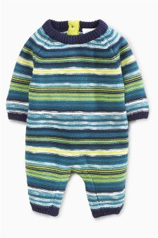 Stripe Knit Romper (0mths-2yrs)